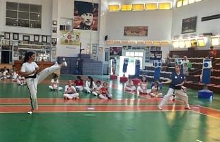 Taekwondo'da Yaz Kupası yapıldı