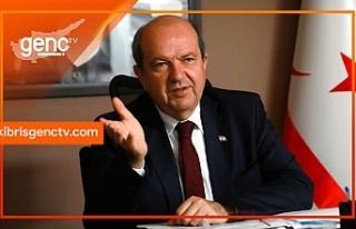 """Tatar, Anastasiadis'i """"Kıbrıs Türk tarafıyla..."""