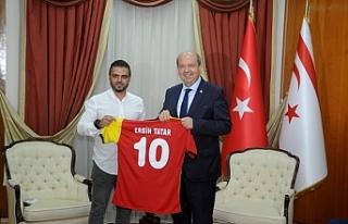 Tatar, Çetinkaya Spor Kulübü yeni yönetim kurulunu...