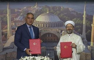 Türkiye Kültür ve Turizm Bakanlığı ile Diyanet...