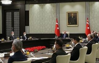 Türkiye Milli Güvenlik Kurulu toplantısında Kıbrıs...