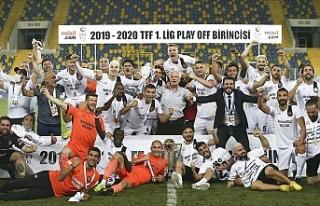 Türkiye Süper Lige yükselen son takım belli oldu