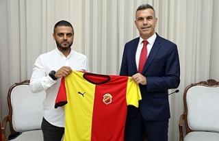 Uluçay, Çetinkaya Başkanı Tunalı'yı kabul...