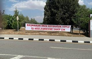 Bay-Sen, BRTK'da eylem başlattı