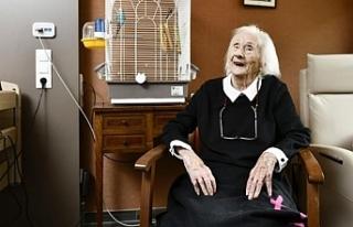 Belçika'nın en yaşlı kişisi 111 yaşında...