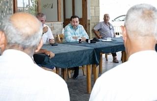 Denktaş, İskele köylerinde vizyonunu anlattı