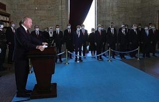 """Erdoğan: """"2023'e ekonomik, askeri, siyasi..."""