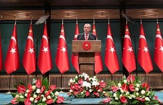 """Erdoğan: """"Akdenizde kendi planlarımızı uygulamaya..."""