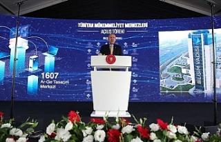 """Erdoğan: """"Büyük ve güçlü Türkiye hedefimize..."""