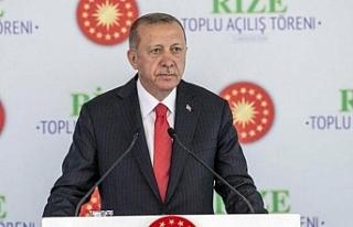 Erdoğan:Haklarımızı sonuna kadar korumaya odaklandık