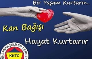 Fenerbahçeliler Derneğinden kan bağışı etkinliği
