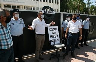 Geçici işçi istihdamlarını protesto