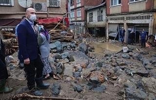 Giresun'daki sel ve heyelanlarda 4 kişinin cansız...