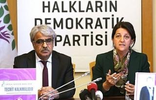 """HDP: """"Türkiye, Doğu Akdeniz'de gerilim politikası..."""