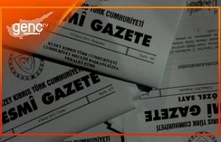 Kararlar Resmi Gazetede yayınlanarak yürürlüğe...