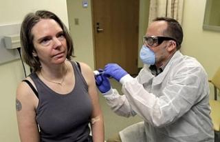 Koronavirüs aşısının denendiği ilk kişiden...