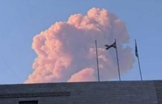 Lübnan'da çok şiddetli patlama