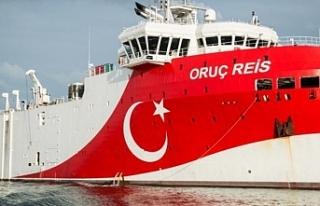 Oruç Reis gemisinin görevi 27 Ağustos'a kadar...
