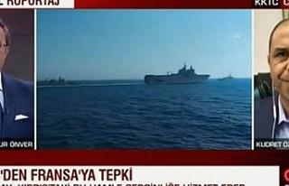Özersay, CNN Türk yayınına katılarak bölgedeki...