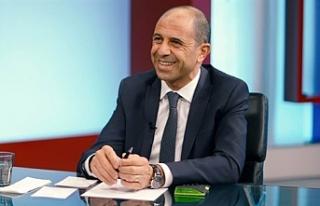 """Özersay: """"Kıbrıs'ı müzakereler üzerinden..."""
