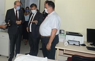 Pilli, Lefkoşa Burhan Nalbantoğlu Devlet Hastanesi'nde...