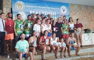 Plaj turnuvası tamamlandı