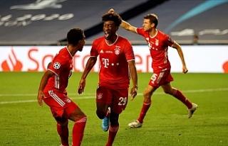 Şampiyonlar Ligi kupası 6. kez Bayern Münih'in