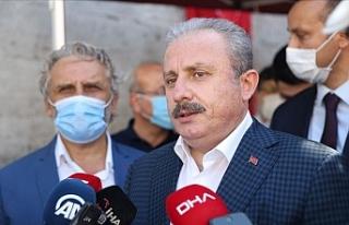 """Şentop: """"Türkiye Doğu Akdeniz'de sahip..."""