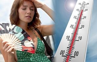 Sıcak hava etkisini sürdürüyor