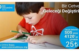 SOS Çocuk Köyünden bağış kampanyası