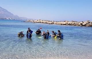 """SOS Girne Gençlik Evi gençleri için """"Denizde..."""