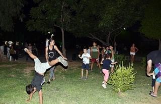 """Spor ve eğlenceyi buluşturan """"Parkta Hayat Var"""",..."""