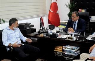 Sucuoğlu, Kiralık Araç İşletmecileri Birliğini...