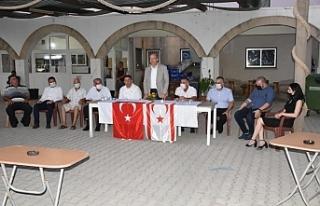 Tatar, İskele ve Karpaz'da bazı köyleri ziyaret...