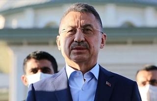 TC Cumhurbaşkanı Yardımcısı Oktay, Doğu Akdeniz...