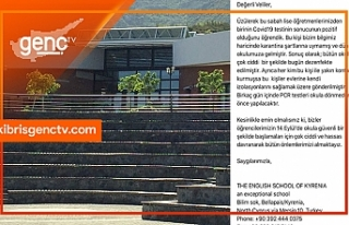 The English School of Kyrenia:Öğretmenimiz pozitif,...