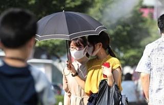 Tokyo'da yüksek hava sıcaklığı nedeniyle 27...