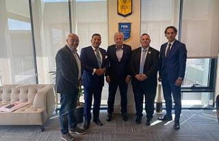 Türkiye Futbol Federasyonu ile Türk Toplumlu Futbol...