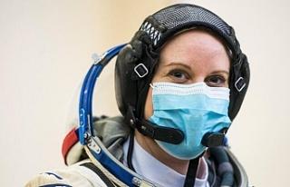 Amerikalı astronot Kate Rubins başkanlık seçiminde...