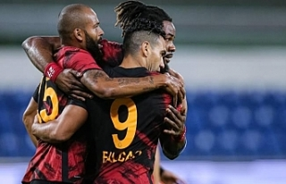 Başakşehir-Galatasaray maçında 2 gol