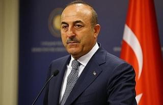 """Çavuşoğlu: """"Federasyon için müzakere etmeyeceğimizi..."""