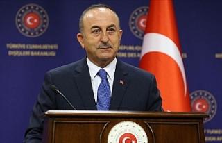 """Çavuşoğlu: """"Türkiye Doğu Akdeniz'de..."""