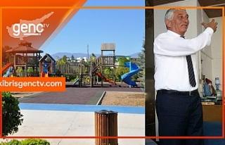 """""""Çocuklarınızı açık ve kapalı oyun parklarına..."""
