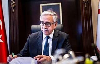 Cumhurbaşkan Akıncı, Azerbaycan topraklarına yönelik...