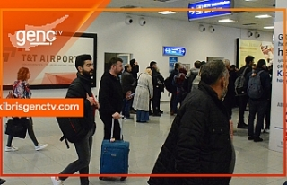 Ercan Havalimanı bugünden itibaren yabancı yolculara...
