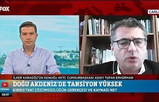 """Erhürman: """"Kıbrıs Türk halkının varlığı..."""