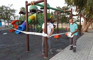 İskele'de parklar, spor alanları ve piknik...