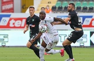 Trabzon, Denizli'den bir puanla döndü