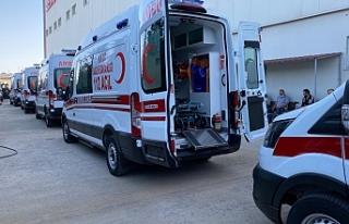 Türkiye'den tam donanımlı 5 ambulans