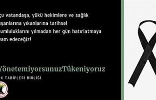 Türkiye'deki Türk Tabipleri Birliği ve hekimlere...